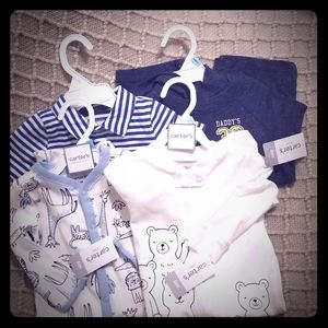 New Carters Baby Boy Items Size 6 Monthes